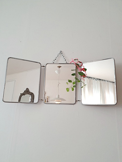 French Wall Triple Mirror